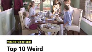 INSH: Top 10 Weird and Wonderful Restaurants - Video
