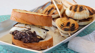 BBQTricks French Onion Soup Burger - Video