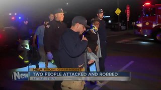 Pair attacked, robbed in Little Italy