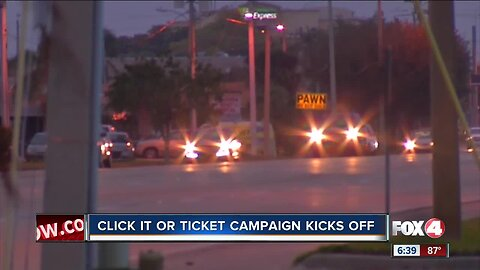 Click it or Ticket campaign begins across the country