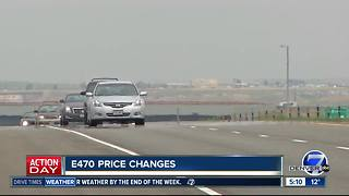 E470 license plate tolling prices up - Video