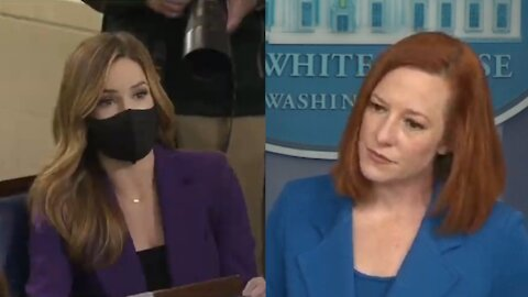 Fox Reporter Fights Back When Jen Psaki Tries to Rudely Dodge Her Questions