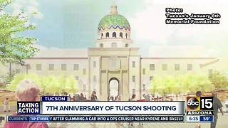 Memorial dedication set for 7th anniversary of Tucson shooting - Video
