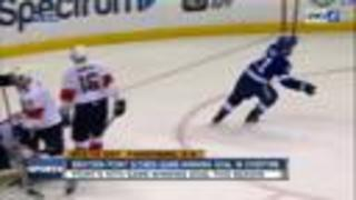 Brayden Point scores in overtime, Tampa Bay Lightning beat Florida Panthers 5-4 - Video