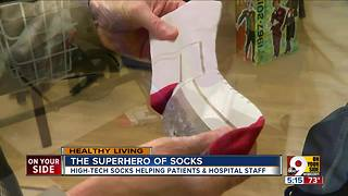 The superhero of socks - Video