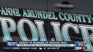 24-year-old arrested for the murder of victim found in vehicle in Glen Burnie