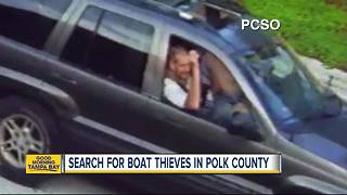 Rash of boat thefts in Polk County has community on edge - Video