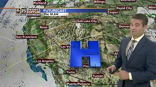 Dry air back in place across Arizona - Video