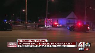 Child finds mother shot to death in KCMO home - Video
