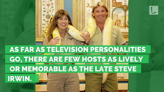 Crocodile Hunter Steve Irwin Honored with Hollywood Star, Message from Bindi Says It All - Video