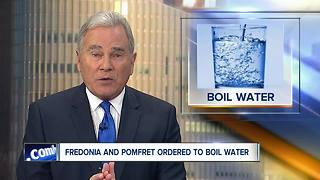 Chautauqua County residents must boil water until further notice