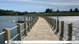 Standing Bear Lake opens floating trail to public