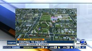 Central 70 project to improve part of I-70 - Video