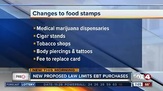 State Rep. looks to prohibit EBT card usage for medical marijuana - Video