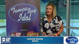 Tampa Bay Idol Audition: Heaven Knizek - Video