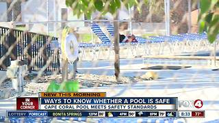 FOX 4 goes over DOH inspection sheet for public pool safety - Video