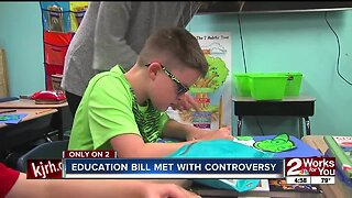 Education bill met with controversy