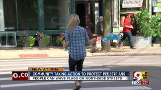 Community taking action to protect pedestrians - Video