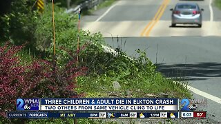 Three children and man killed in Cecil County crash