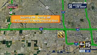 US 60 closed for construction over weekend - Video