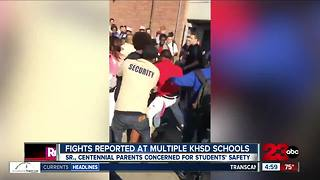 Brawls fill Bakersfield schoolyards - Video