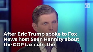 Washington Post Selectively Edits Eric Trump - Video