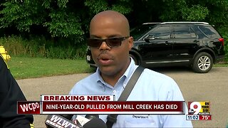 Nine-year-old dies after being pulled from Mill Creek