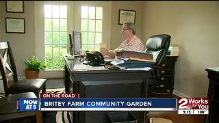 Britey Farm community garden - Video
