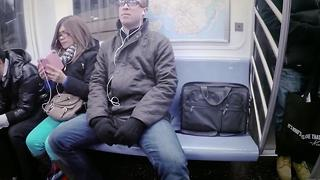 Madrid's Anti-Manspreading Campaign - Video