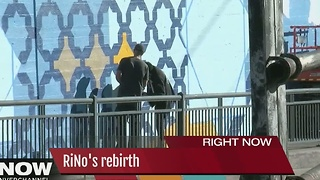 New mural adorns RiNo courtesy of volunteers - Video