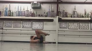 Rhythmic Gymnastics Unexpected Fail - Video