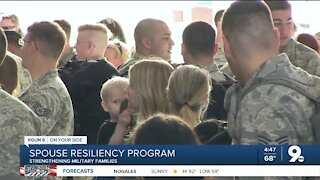 Military spouses learn strength for special challenges
