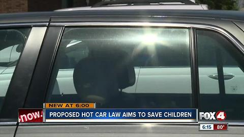 Hot Car Law Proposed