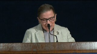 Constitutional law attorney speaks on impact of Justice Ginsburg