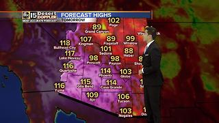 Heat streak continues through Sunday - Video