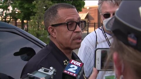 Detroit Police Chief: 'We're making a decision to support' protesters as they continue past curfew