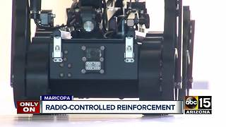 Maricopa police deploy new robot technology - Video