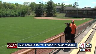 'As American as apple pie and baseball:' Community starts effort to renovate Satchel Paige stadium