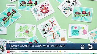Fallbrook family's game helps players' anxiety with humor