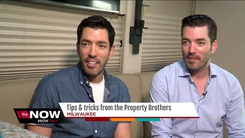 HGTV stars the Property Brothers visit Milwaukee on book tour
