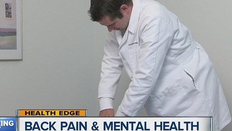 Back pain and mental health