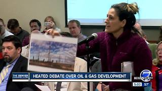 State Oil and Gas Commission meeting reaches a fever pitch over public comment rule change - Video