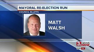 Council Bluffs mayor files for re-election - Video