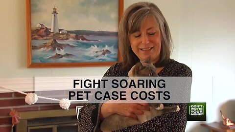 Fight soaring pet care costs