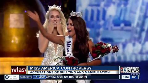 Miss America says she was bullied
