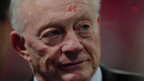 Jerry Jones Has Nothing To Say After Roger Goodell's Big Contract