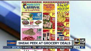 Best grocery deals this week - Video