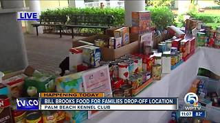 All-day food drive at Palm Beach Kennel Club - Video