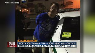 North Port woman talks about being held captive