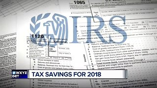 Tax savings for 2018 - Video